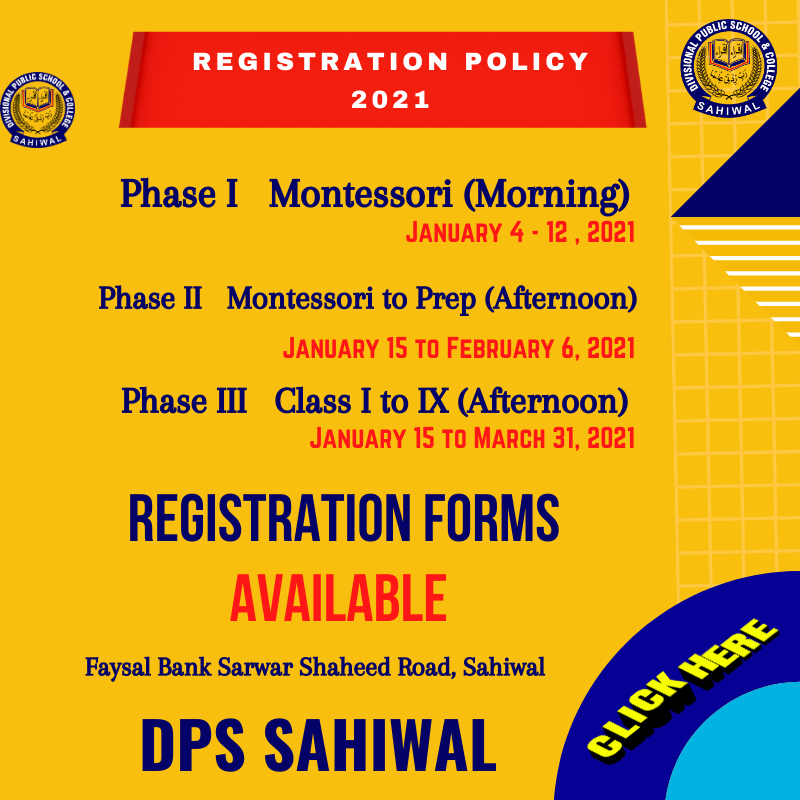 2021 Admission Policy